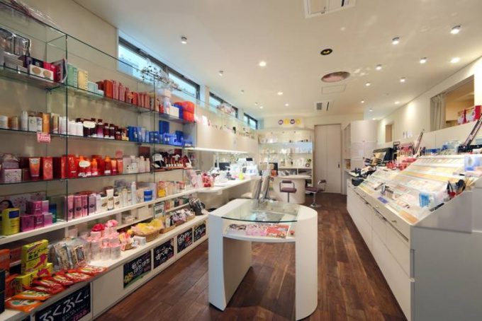 miwa cosmetics salon 若松屋内装